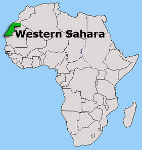 El estado jurídico del Sáhara Occidental.