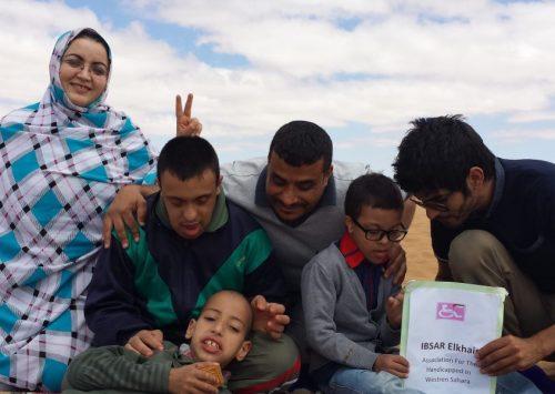 Las condiciones de l@s saharauis con discapacidades diferentes empeoran en los territorios ocupados de Sáhara Occidental.