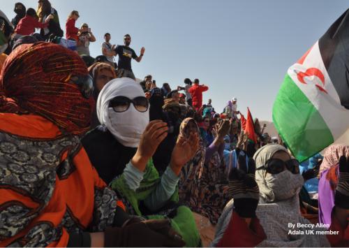 Mujeres saharauis